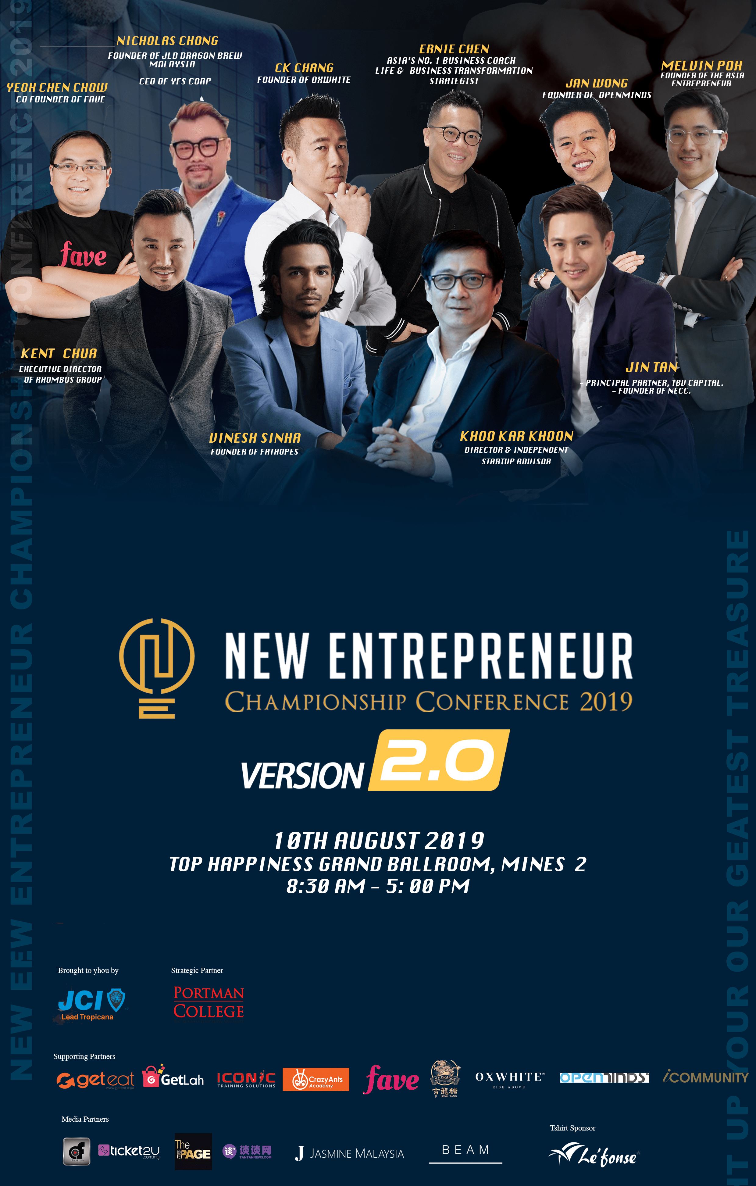 New Entrepreneur Championship Conference 2019 – iCOMMUNITY